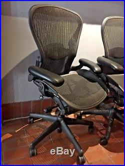 Herman Miller Aeron Office Chair SMALL A Adjustable ERGONOMIC Fully Loaded