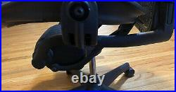 Herman Miller Aeron Office Chair Size B Black and adjustable