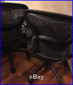 Herman Miller Aeron Office Chair With Lumbar Pad