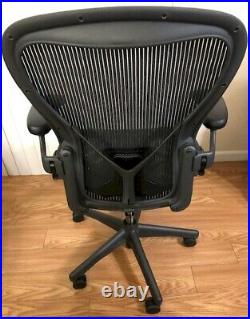 Herman Miller Aeron Office Chair (size B or C) Black Good Condition