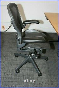 Herman Miller Aeron Office Chairs MINT CONDITION (Just wipe dust) Black Size C