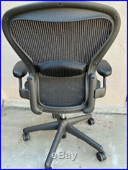 Herman Miller Aeron Office/ Computer Chair Black Size A