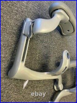 Herman Miller Aeron Platinum Lever Swing Arm and Arm Yoke