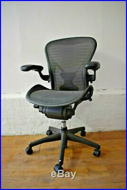 Herman Miller Aeron Posture Fit Size B Office Ergonomic Chair 10 Available
