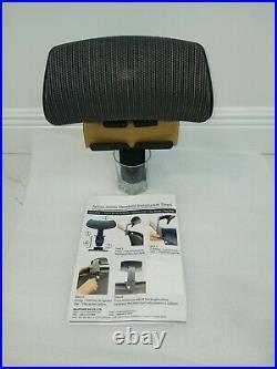 Herman Miller Aeron REMASTERED Headrest, Graphite In Color, Brand New