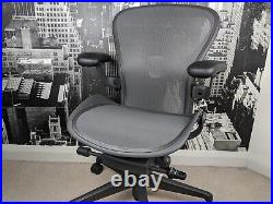 Herman Miller Aeron Remastered Chair Size A Fully Loaded