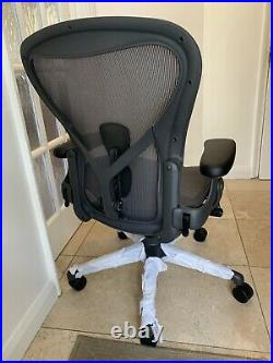 Herman Miller Aeron Remastered Chair Size B Fully Loaded 2020 Model
