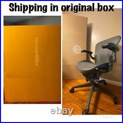 Herman Miller Aeron Remastered Ergonomic Chair Mesh Rest 2020 sz b Office chair
