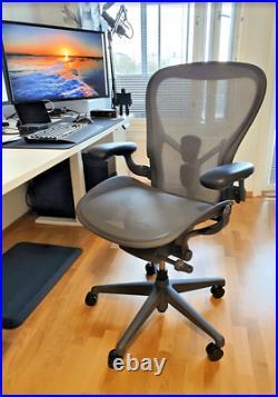 Herman Miller Aeron Remastered PostureFit SL Fully Loaded Size B