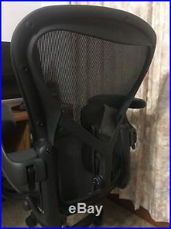 Herman Miller Aeron Remastered Size B Fully Optioned with PostureFit SL! New