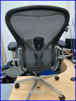 Herman Miller Aeron Remastered polished fully loaded Working from home