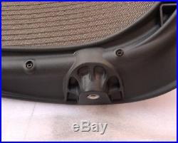 Herman Miller Aeron Seat Graphite Frame With Tan Mesh Size B