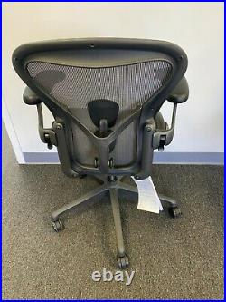 Herman Miller Aeron Size A Remastered Light Gray. Fully Loaded