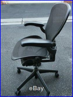 Herman Miller Aeron Size B Desk Chair Excellent Condition