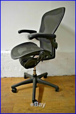 Herman Miller Aeron Size B Ergonomic Office Swivel Chair Reduced! Size B REF03