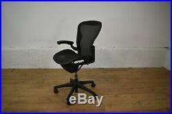Herman Miller Aeron Size B Ergonomic Office Swivel Chair Requires TLC