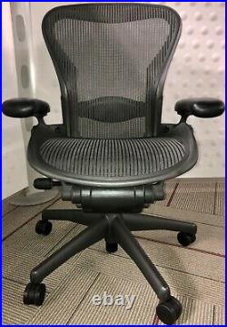 Herman Miller Aeron Size B Task Chairs Office Desk Chairs Conference Chairs