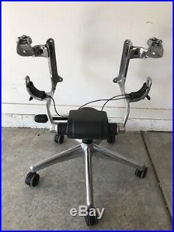 Herman Miller Aeron Size C Chair Parts Base Arm Supports Seat LinksTilt Assembly