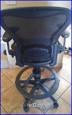 Herman Miller Aeron Stool Chair-Fully Adjustable -Size B