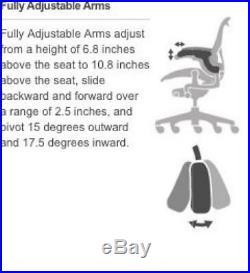 Herman Miller Aeron Task Chair Tilt Limiter/Seat Angle PostureFit SL