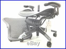 Herman Miller Aeron Task Chair Tilt Limiter/Seat Angle PostureFit SL Fully