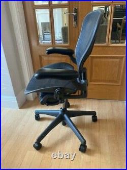 Herman Miller Aeron Task chair B size Adjustable arms, Rear Tilt