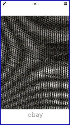 Herman Miller Aeron Tuxedo Mesh Graphite Size A Flip Arms, Front Tilt, Lumbar Bar