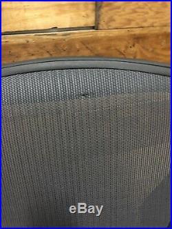 Herman Miller Aeron chair C Size Adjustable Model