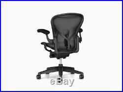 Herman Miller Aeron chair Remastered Model Brand New 12 year Warranty B Size