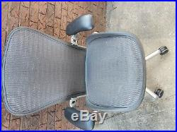 Herman Miller Aeron chair Remastered fully adjustable Chrome C Size