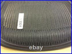 Herman Miller Aeron size B. New Genuine Replacement Carbon Seat