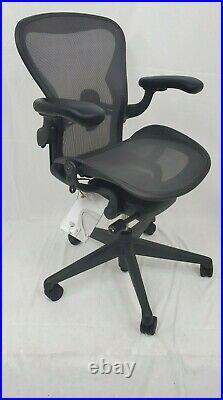 Herman Miller Aeron size B REMASTEREDNEW Open BOXErgonomic Office ChairBLACK
