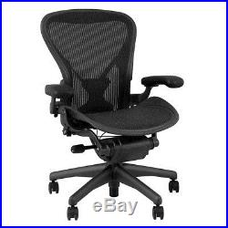 Herman Miller Classic Aeron Chair Fully Adjustable, Size B, PostureFit