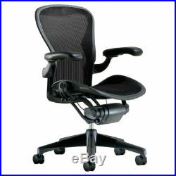 Herman Miller Classic Aeron Chair Fully Loaded Size B Medium