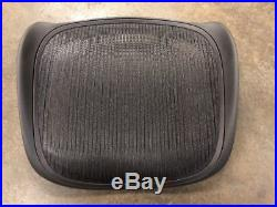 Herman Miller Classic Aeron Chair Seat Replacement C Size Carbon Graphite Frame