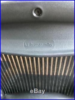 Herman Miller Classic Aeron Chair Size A with lumbar