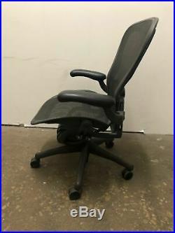 Herman Miller Classic Aeron Office Chair Adjustable Model B Medium Size
