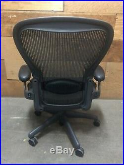 Herman Miller Classic Aeron Office Chair Adjustable Model C Large Size
