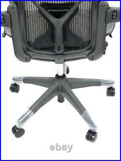 Herman Miller Classic Fully-Loaded Gray Mesh Size C PostureFit Aeron chair