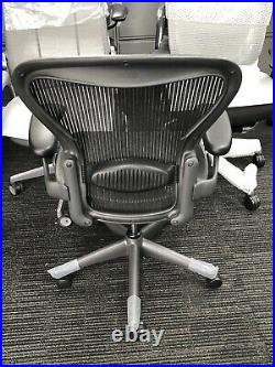 Herman Miller Classic Size B With Tilt Limiter and Lumbar Support Aeron Chair