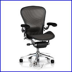 Herman Miller Executive Aeron Task Chair Highly Adjustable withPostureFit Lumba