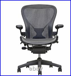 Herman Miller Fully Loaded Posture fit Size B Aeron Chairs Open Box NEW