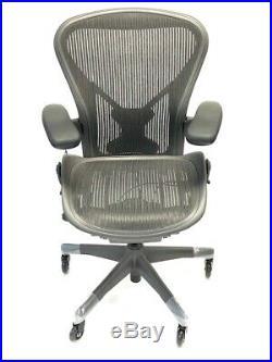 Herman Miller Fully-Loaded Size B (Medium)l PostureFit Aeron chair