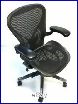 Herman Miller Fully-Loaded Size C Posturefit Aeron Chair