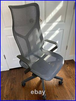 Herman Miller High-Back Cosm Aeron Office Chair Black