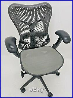 Herman Miller MIRRA 1 ergonomic Fully Adjustable chair Graphite aeron eames leap
