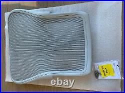 Herman Miller REMASTERED Aeron Seat Back Mineral SIZE C w PostureFit SL NEW OB