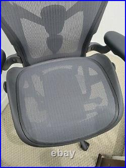 Herman Miller Remastered Aeron Size C Office Chair Fully Loaded PostureFit
