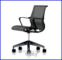 Herman Miller SETU Ergonomic Task Chair NEW fully ERGONOMIC showroom model aeron