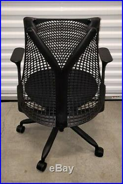 Herman Miller Sayl Office Task Chair Black Ergonomic aeron USA EX+++